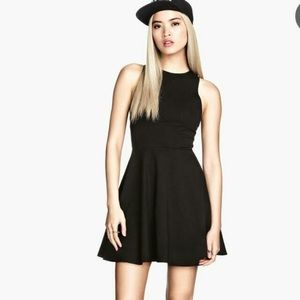 Excellent condition black skater dress